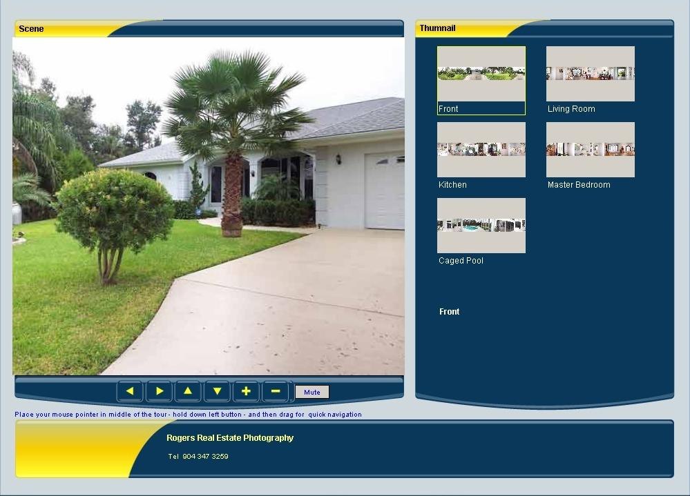 Virtual Tours for Real Esate - Example 1