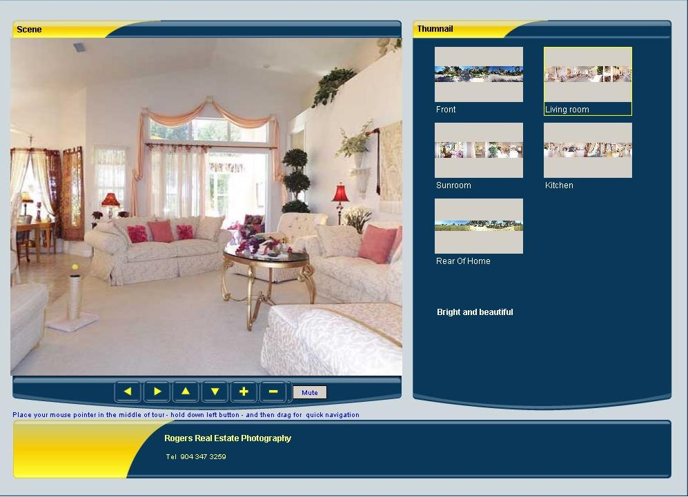 Virtual Tour For Real Estate - Example 2
